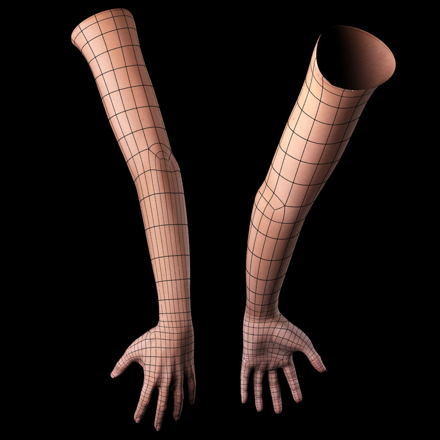 Female Arm royalty-free 3d model - Preview no. 15