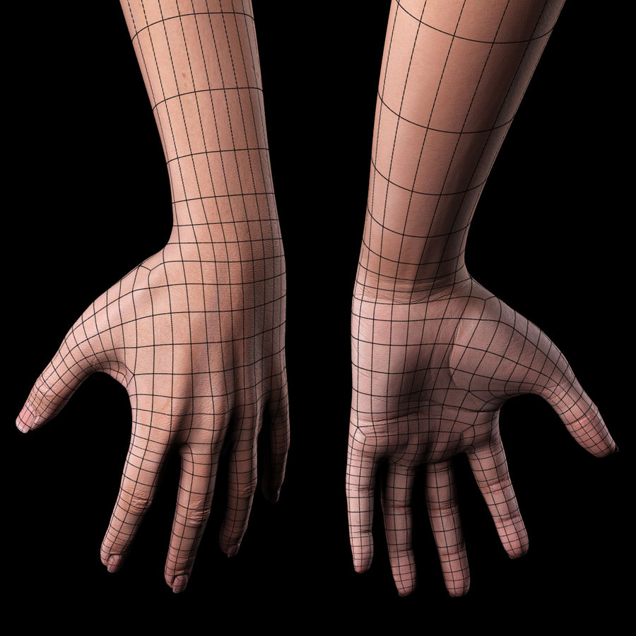 Female Arm royalty-free 3d model - Preview no. 14