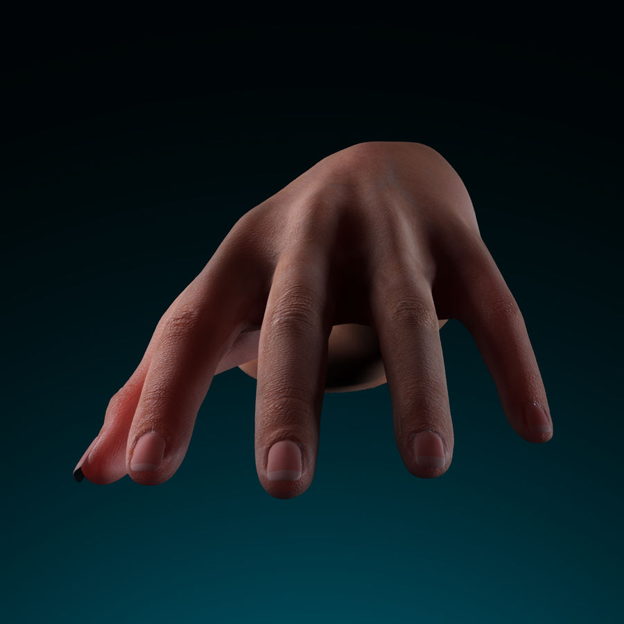 Female Arm royalty-free 3d model - Preview no. 10