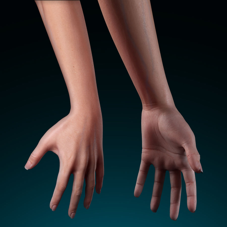 Female Arm royalty-free 3d model - Preview no. 8