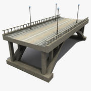 Concrete Bridge 3d model