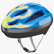 Bicycle Helmet 3 3d model