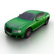 Bentley Continental GT Speed 2013 3d model