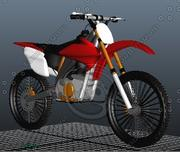 motorbike crf model 3d model
