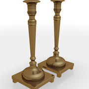 Candle Sticks 02 3d model