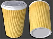 Tasse à café sans marque 3d model