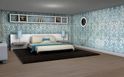寝室 3d model