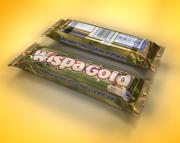 wispa chocolate bar 3d model