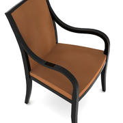 Стильный стул 3d model