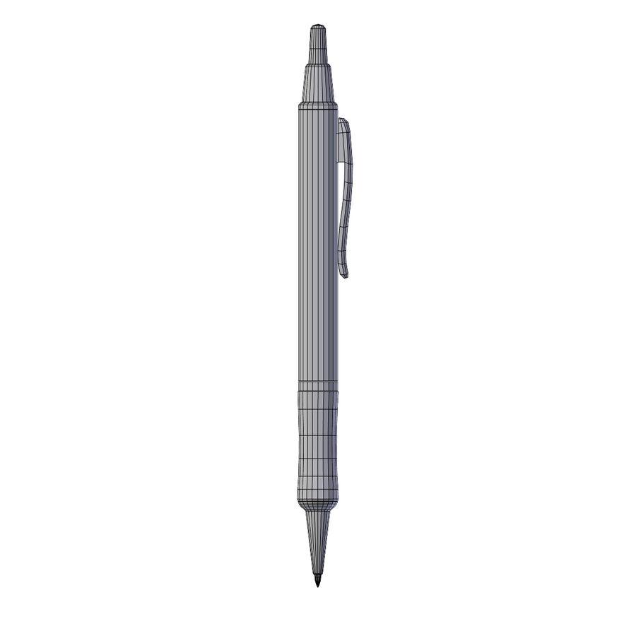 Dark Blue Pen royalty-free 3d model - Preview no. 7