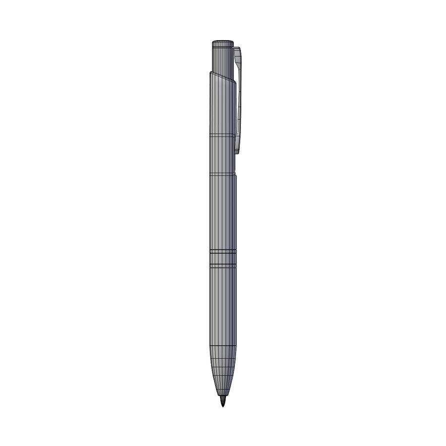 Green Pen royalty-free 3d model - Preview no. 5