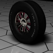 Wheel and Tire 3d model