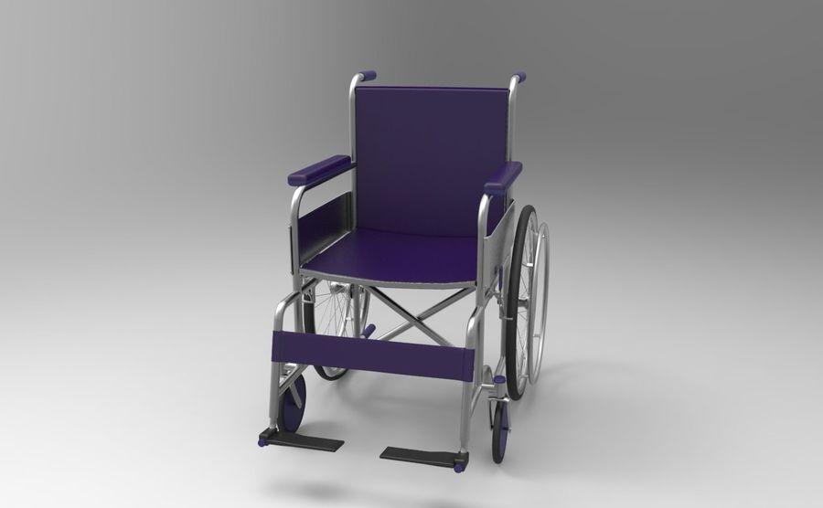 轮椅3ds max,obj,3ds royalty-free 3d model - Preview no. 5