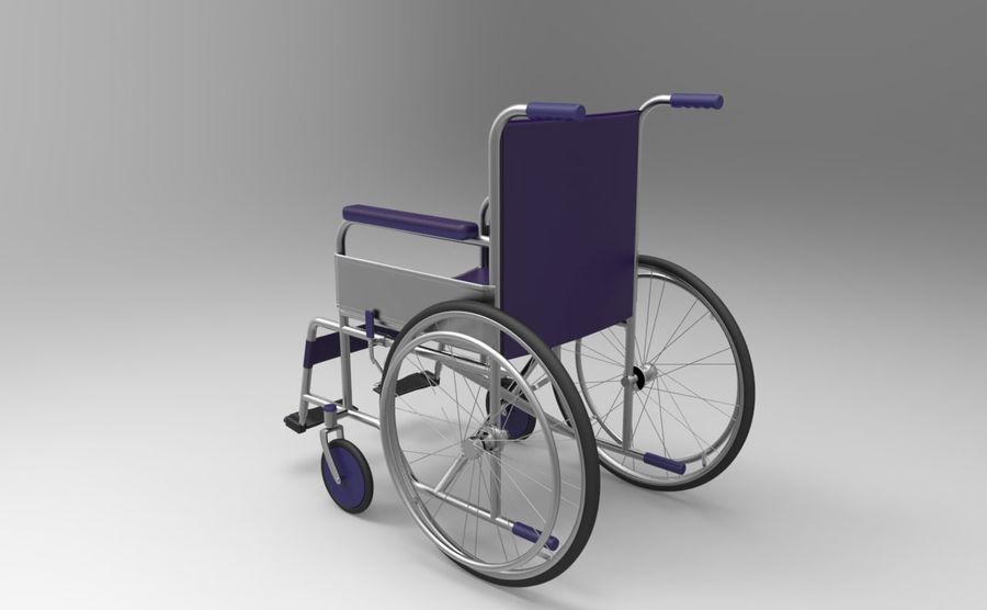 轮椅3ds max,obj,3ds royalty-free 3d model - Preview no. 3