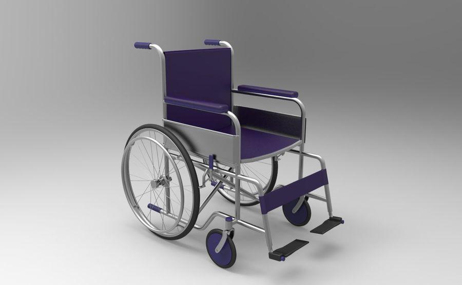 轮椅3ds max,obj,3ds royalty-free 3d model - Preview no. 1