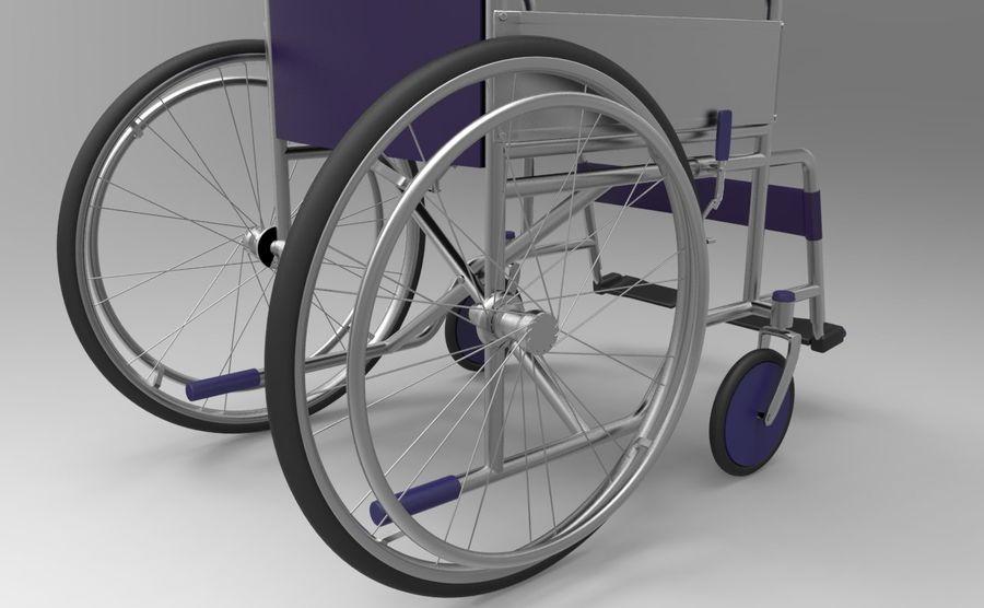 轮椅3ds max,obj,3ds royalty-free 3d model - Preview no. 2