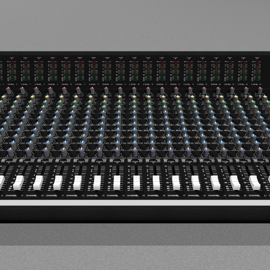 Mixing Board: All Purpose royalty-free 3d model - Preview no. 8