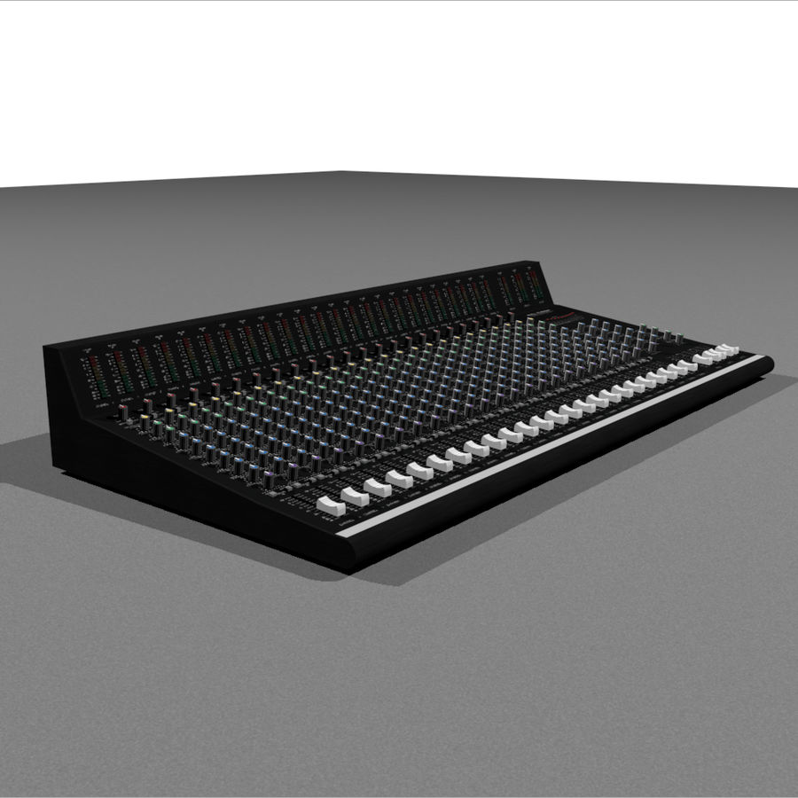 Mixing Board: All Purpose royalty-free 3d model - Preview no. 4