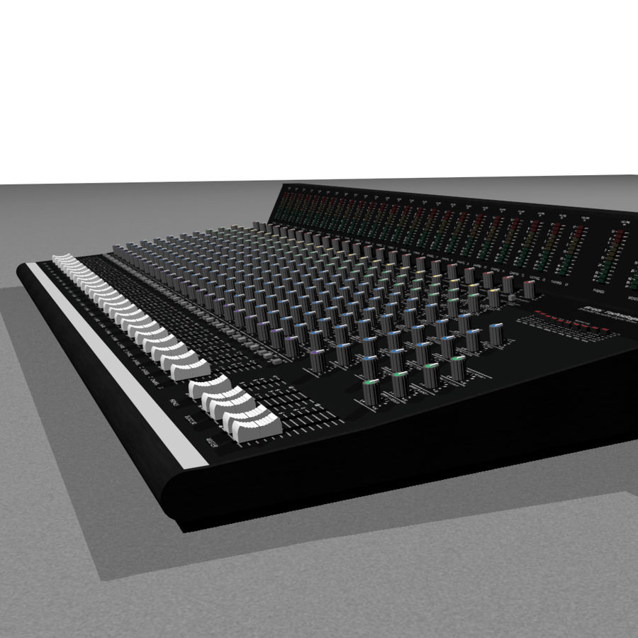 Mixing Board: All Purpose royalty-free 3d model - Preview no. 7