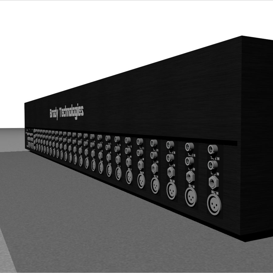 Mixing Board: All Purpose royalty-free 3d model - Preview no. 14
