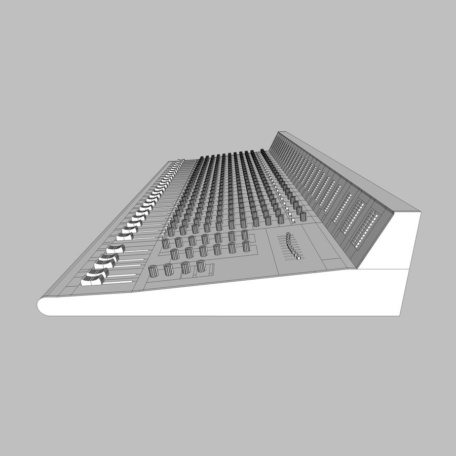 Mixing Board: All Purpose royalty-free 3d model - Preview no. 26