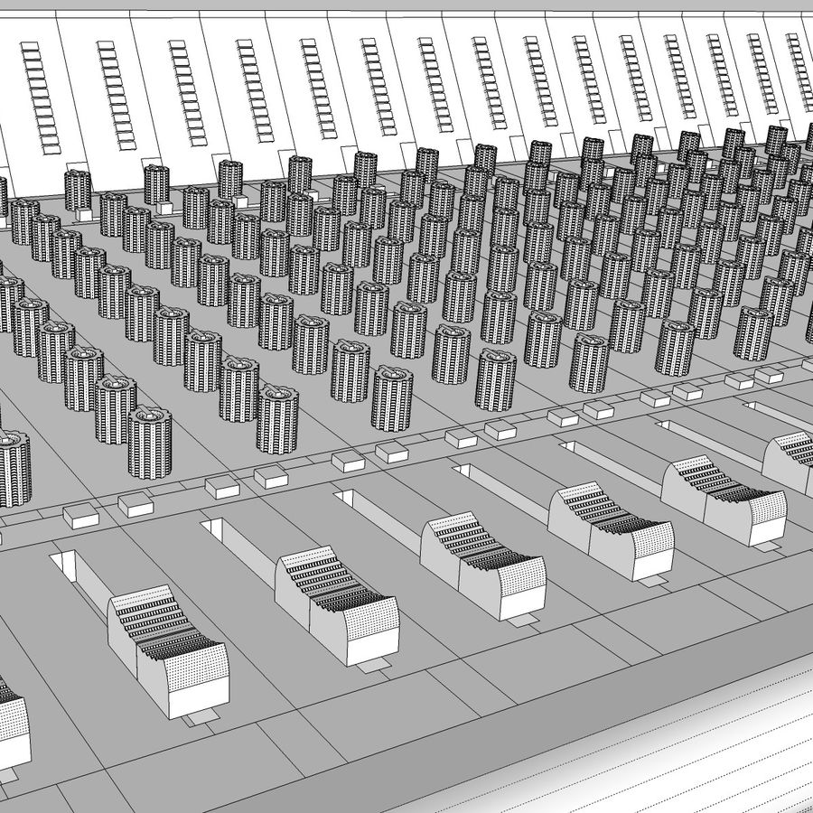 Mixing Board: All Purpose royalty-free 3d model - Preview no. 21