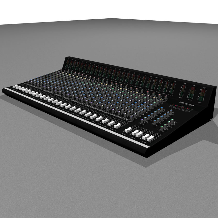 Mixing Board: All Purpose royalty-free 3d model - Preview no. 3