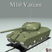 Variante M10 modelo 3d