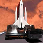 火箭 3d model