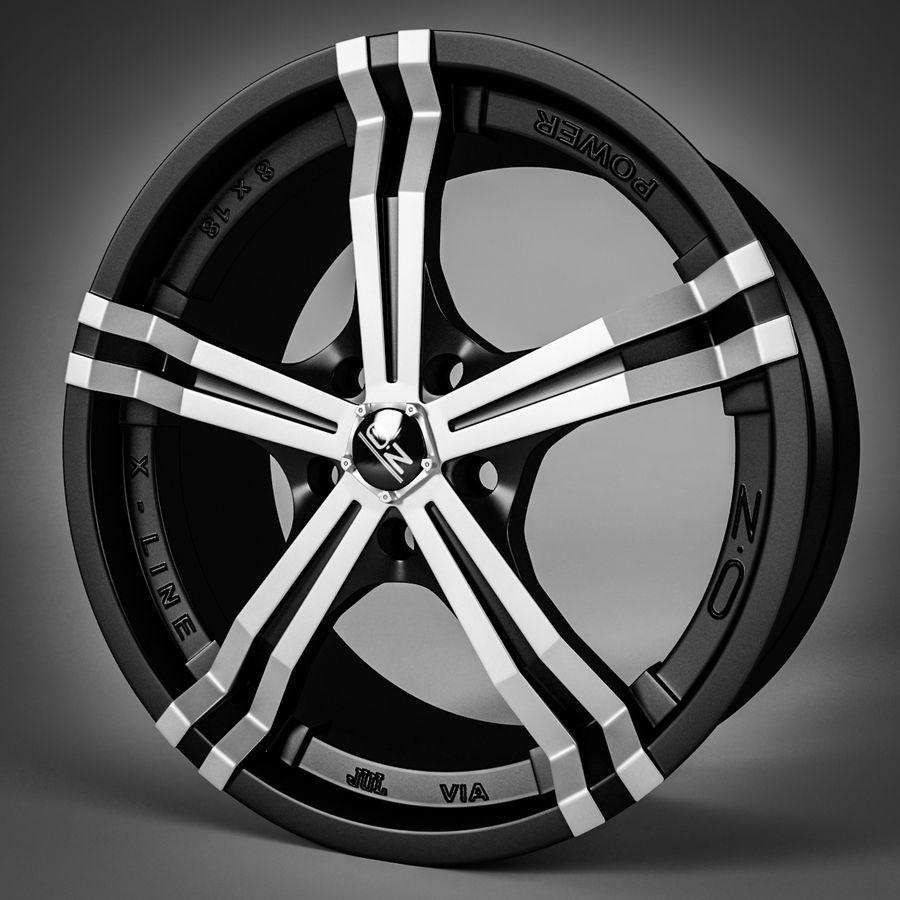 Moc OZ Racing Racing royalty-free 3d model - Preview no. 1