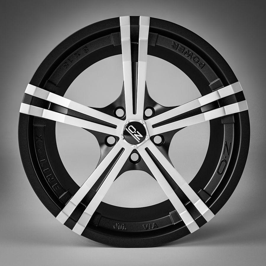Moc OZ Racing Racing royalty-free 3d model - Preview no. 5