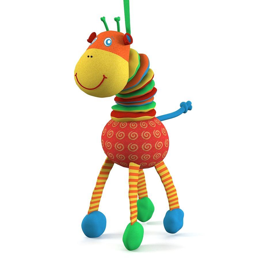 长颈鹿玩具 royalty-free 3d model - Preview no. 1