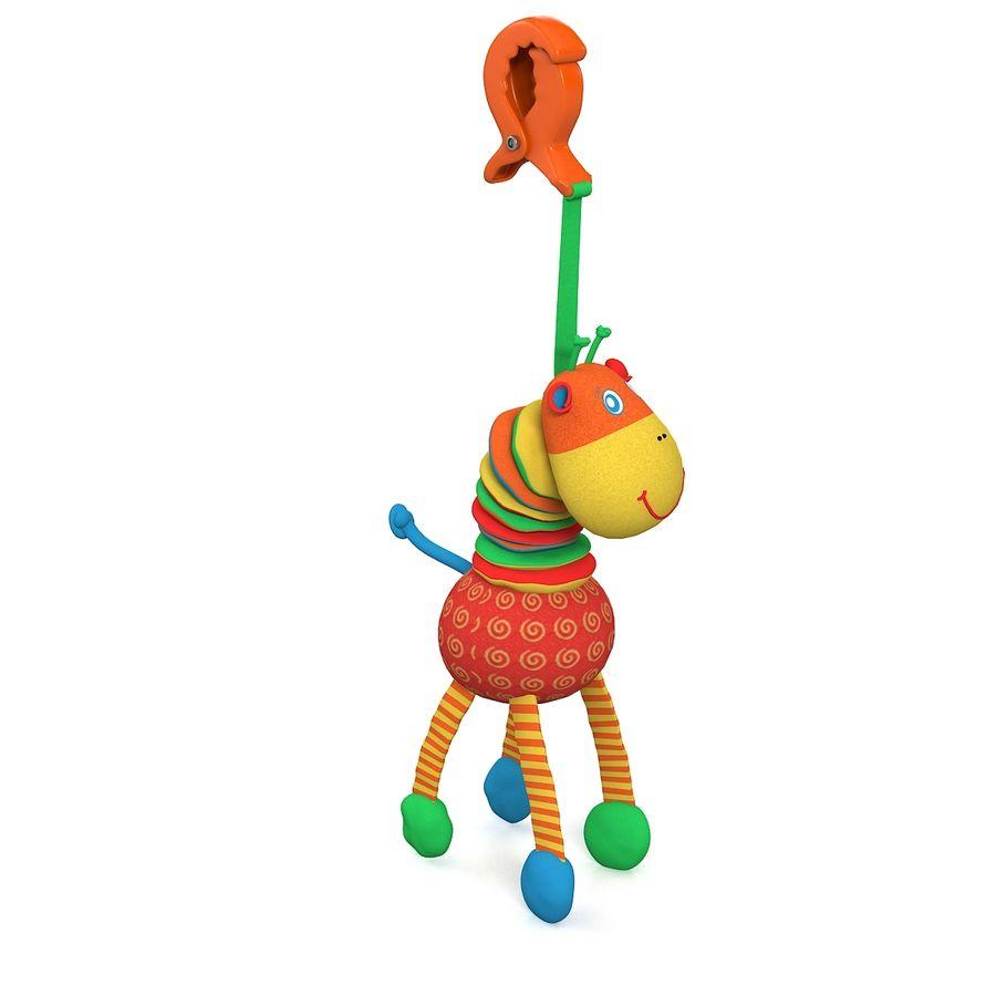 长颈鹿玩具 royalty-free 3d model - Preview no. 3