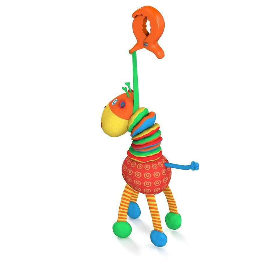 长颈鹿玩具 royalty-free 3d model - Preview no. 2