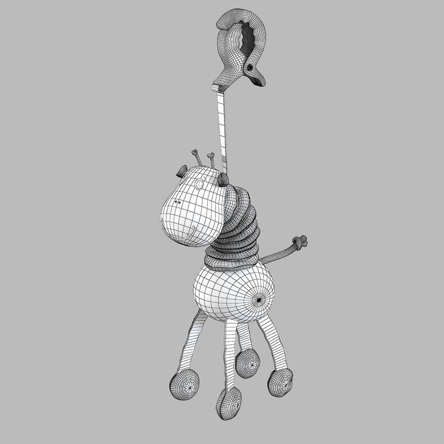 长颈鹿玩具 royalty-free 3d model - Preview no. 5