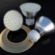Punkt LED-lampa 3d model