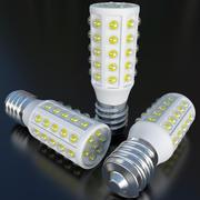 Medium LED-lampa 2 3d model