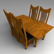 テーブルセット 3d model