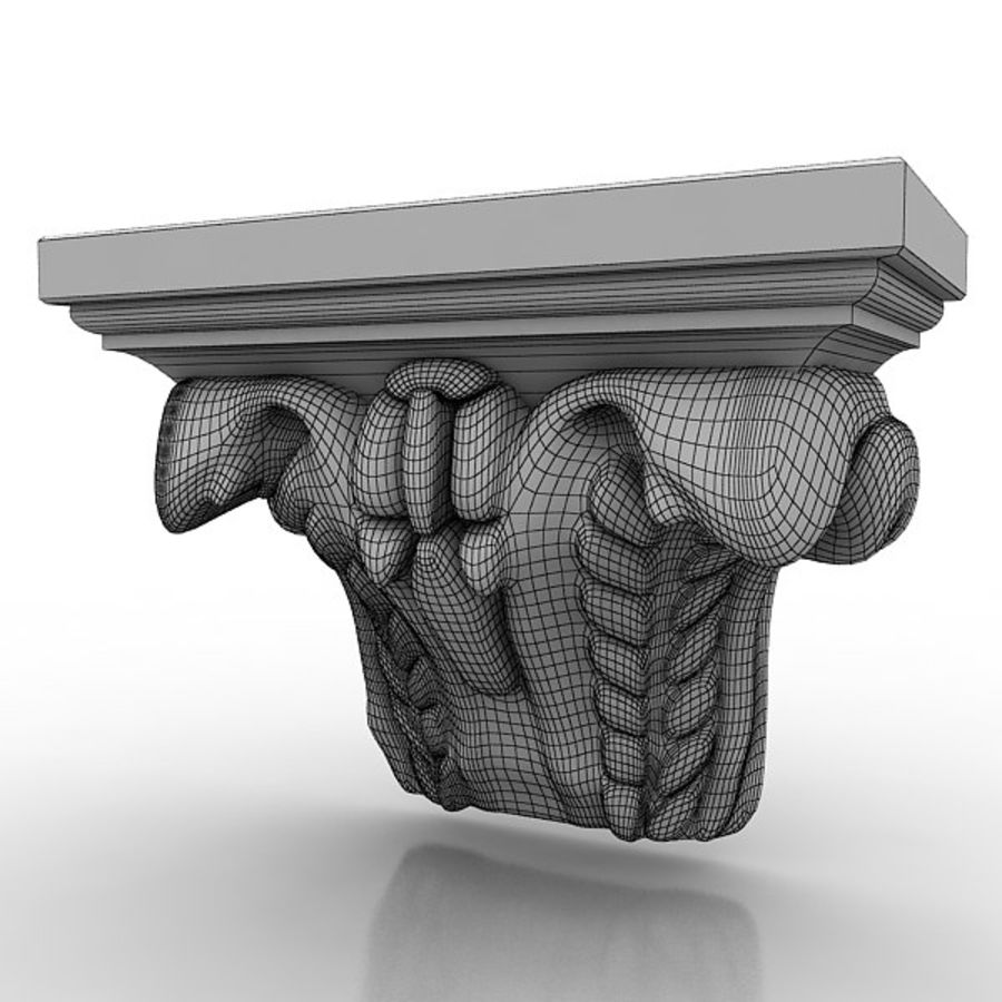 Architectural Elements 72 royalty-free 3d model - Preview no. 5