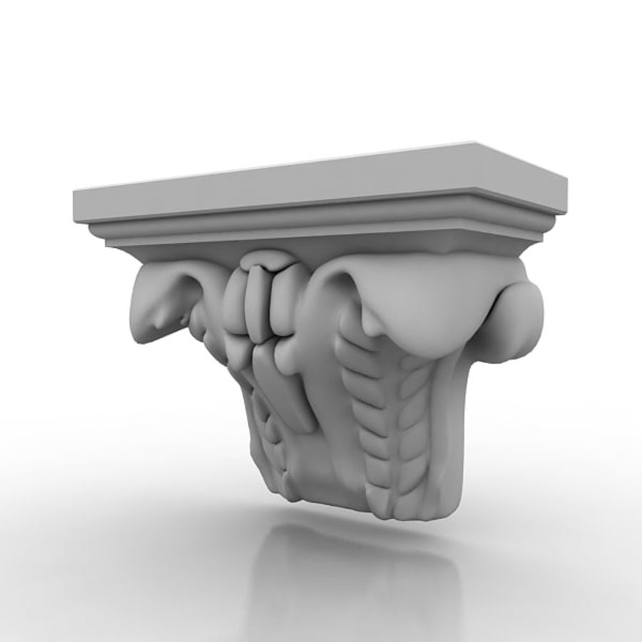 Architectural Elements 72 royalty-free 3d model - Preview no. 2