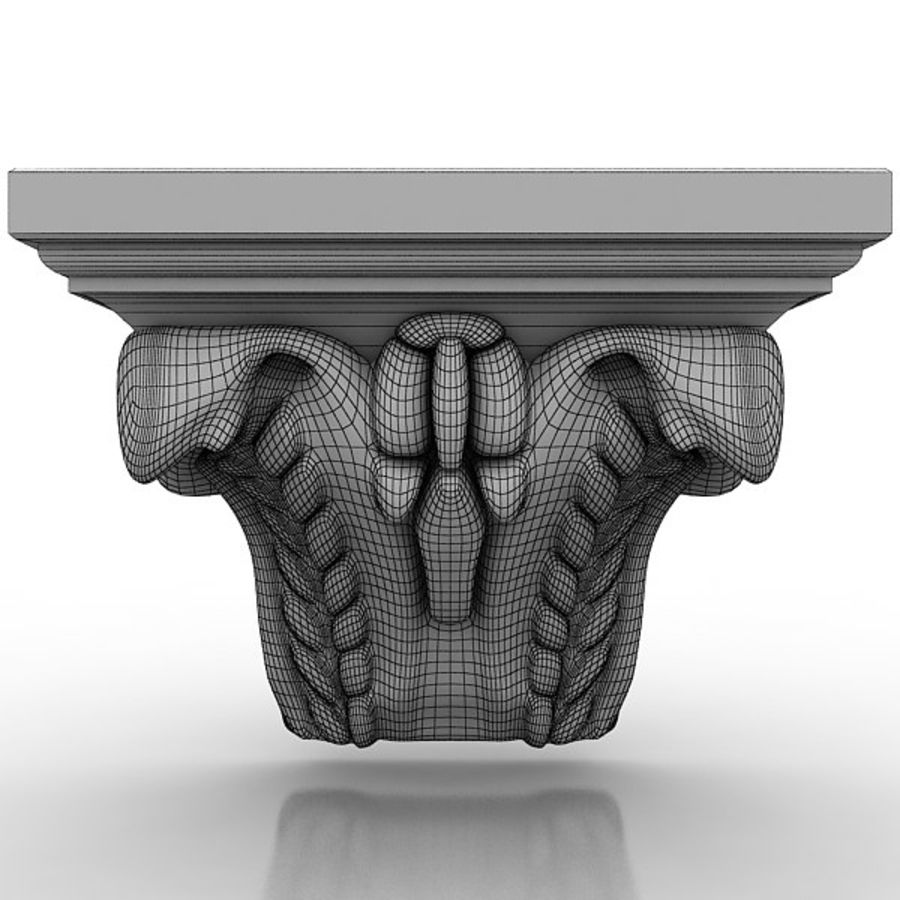 Architectural Elements 72 royalty-free 3d model - Preview no. 4