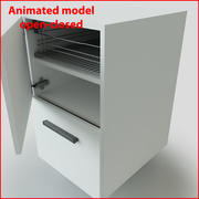 Rack drawer 3d model