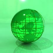 Earth Globe 3D 3d model