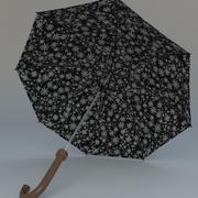 umbrella rain(1) 3d model