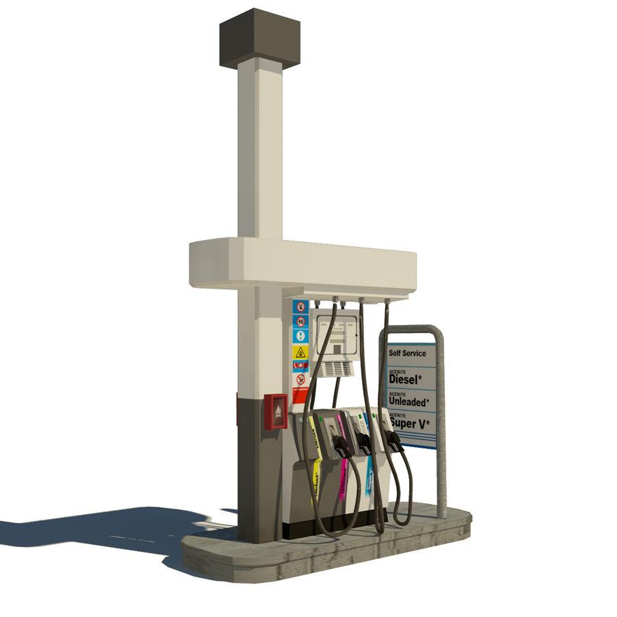 pompa gazowa royalty-free 3d model - Preview no. 2