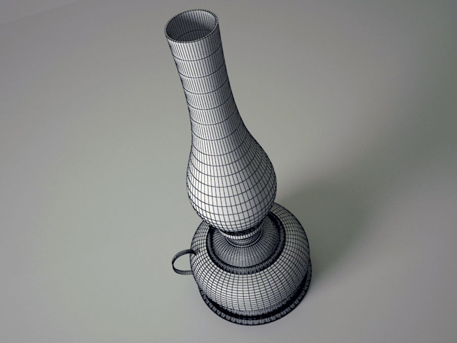Oil Lamp royalty-free 3d model - Preview no. 5