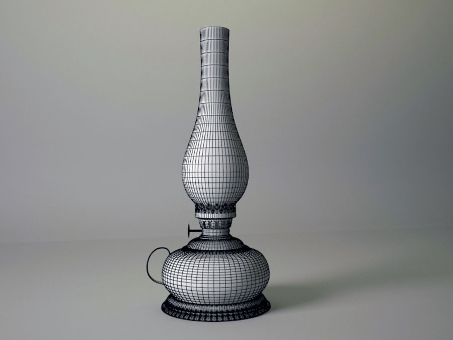 Oil Lamp royalty-free 3d model - Preview no. 4