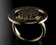 Anel de ouro 3d model