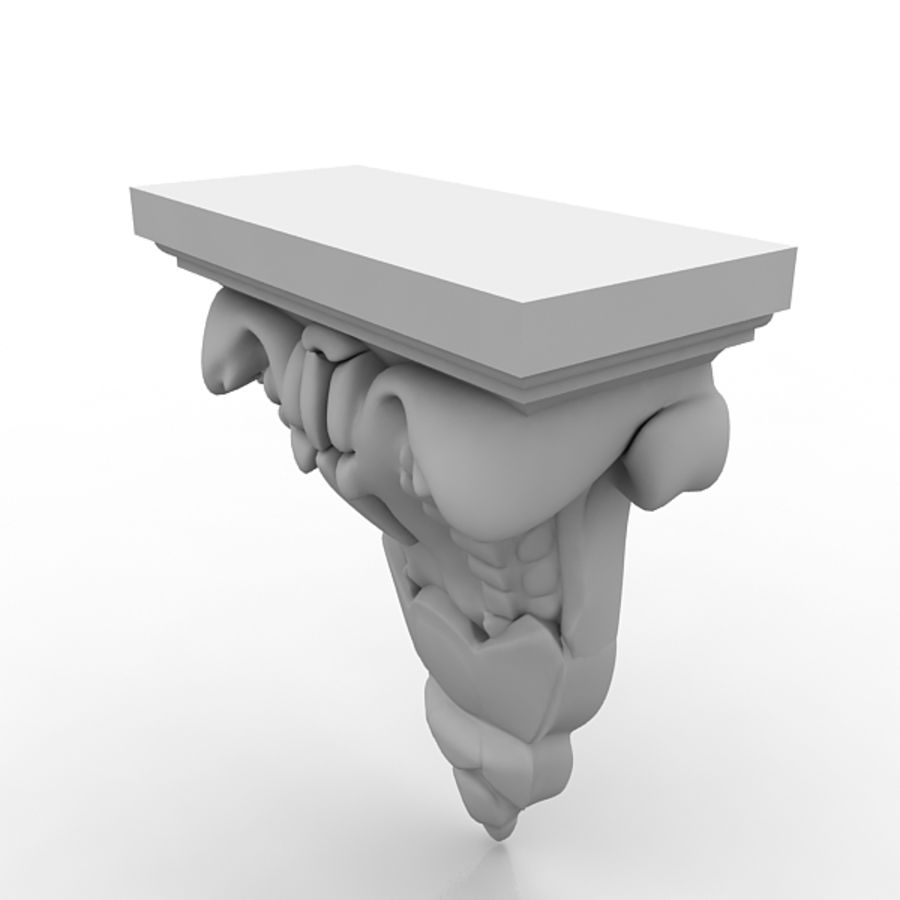 Architectural Elements 71 royalty-free 3d model - Preview no. 3