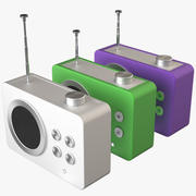 Lexon Mini dolman radio 3d model